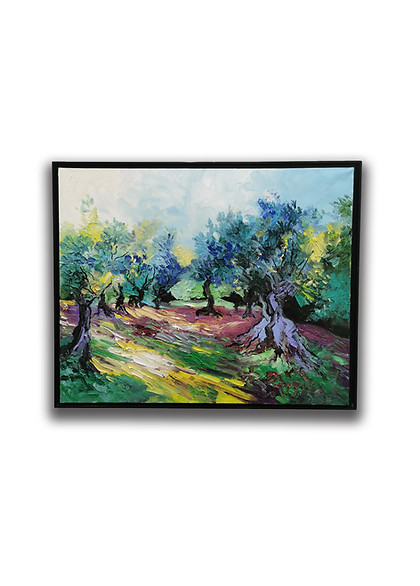 Denis Ribas - Le jardin des Oliviers du Cap Martin.