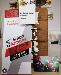 47° Salon d'Antibes 2019