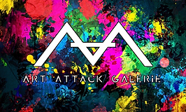 Logo blanc sur couleurs devanture magasi