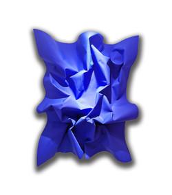 Monade Bleue biseautée 110x80cm