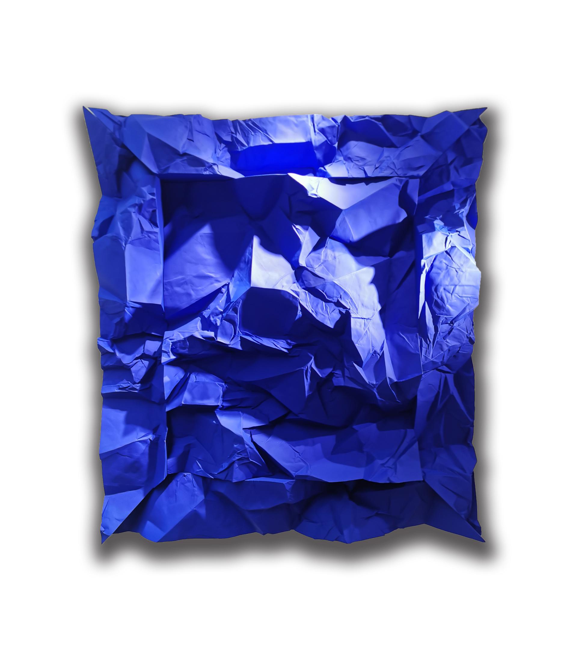 Monade Bleue carrée 2010