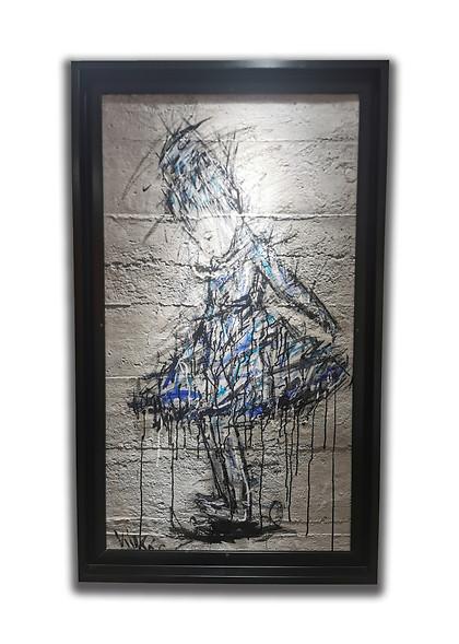 KIKO - Petite fille bleu