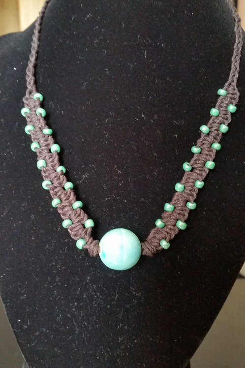 Turquiose Pearl Necklace