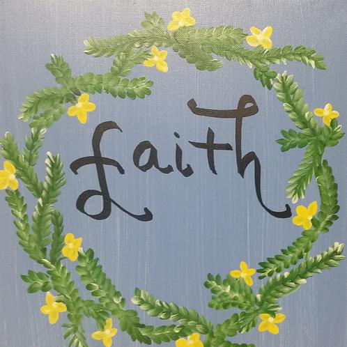 Faith Canvas