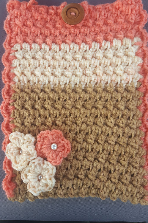 Crochet Tablet Case Fit 7""