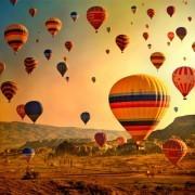 Passeio de balão pelos céus da Capadócia