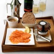 Café da manhã privativo no quarto
