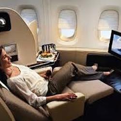 Passagens aéreas em classe executiva