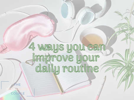 Simple actions to organize your daily routine