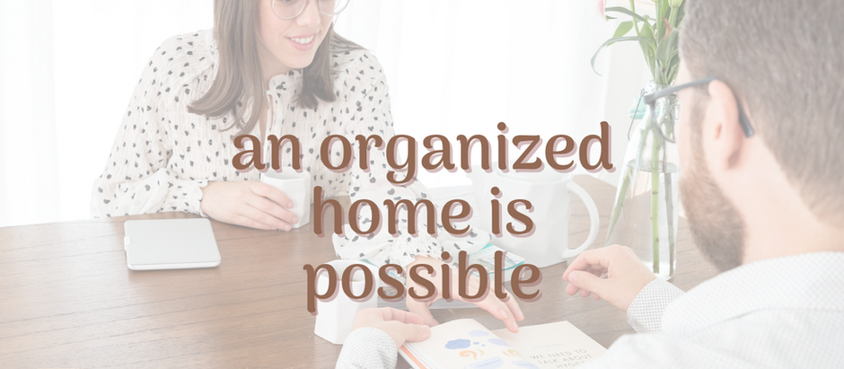 What do you really need to have an organized home?