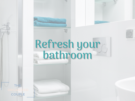 It's time to Spring Clean your bathroom