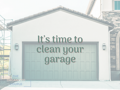 Cleaning and decluttering your garage
