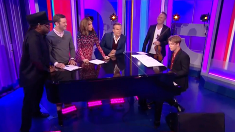 Richard's gameshow medley at the BBC