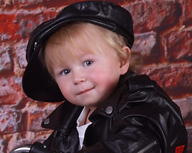 Spotlights Fundraiser - Portrait of a cool boy