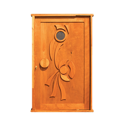 Indigo Glass Pivot Door