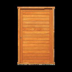 Horizontal Pivot Door