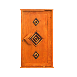 Diamond Pivot Door