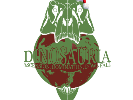 Merry Christmas and Happy Holidays from Dinosauria! (2020)