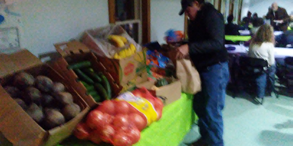 Healthy Foods Give Away