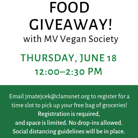 Contactless Food Giveaway