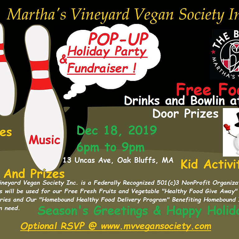 Pop-Up Holiday Party & Fundraiser