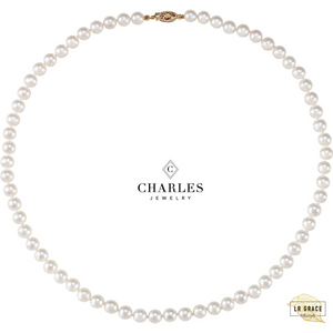 Charles Jewelry pearl necklace giveaway