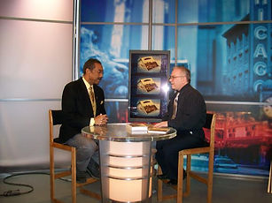 WGN Chicago Channel 9 News interview with Robert Jordan on Len Small book
