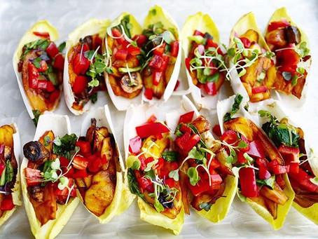 Jackfruit Endive Bites