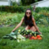 Laura Keller organic garden