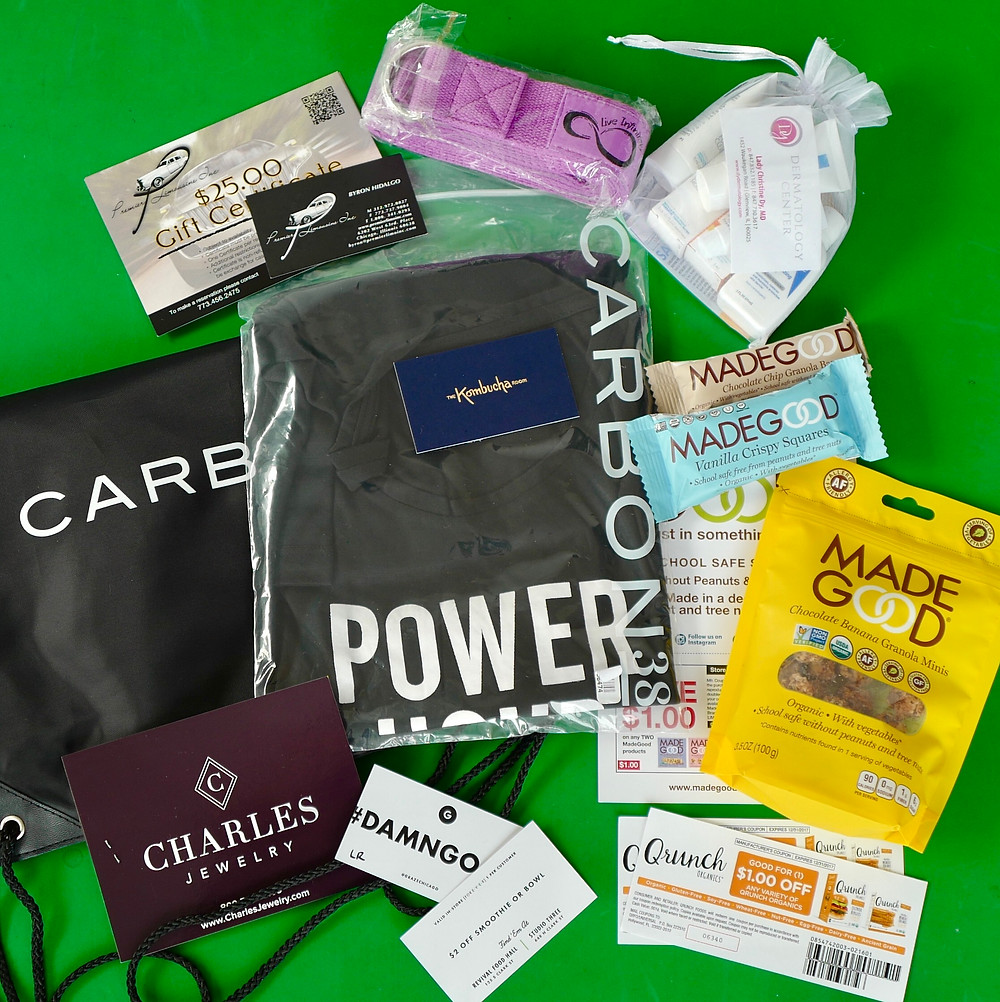 LR Grace Wellness Summit swag bag