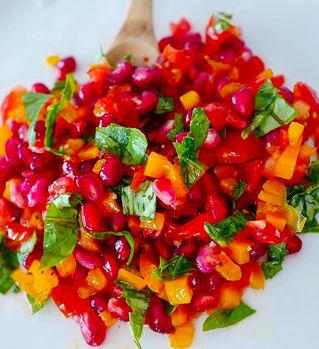 Tomato and Pomegranate Salad