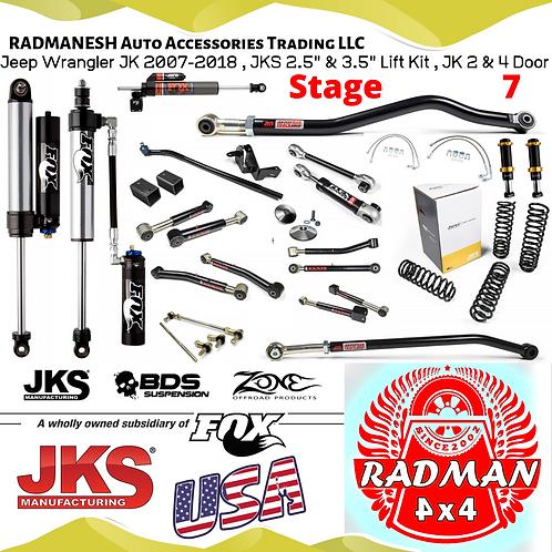 Wrangler JK , Stage 7 Lift Kit