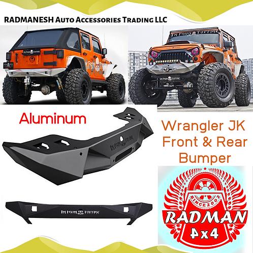 Aluminum Bumper Front & Rear