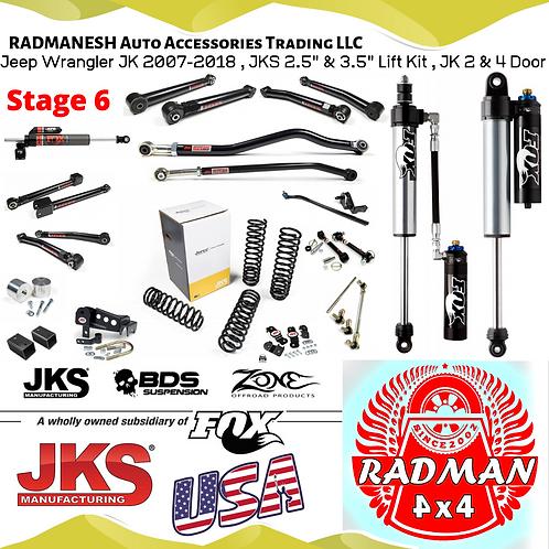 Wrangler JK , Stage 6 Lift Kit