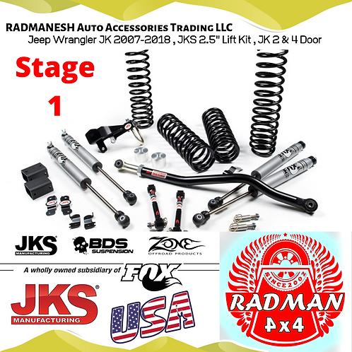 Wrangler JK , Stage 1 Lift Kit