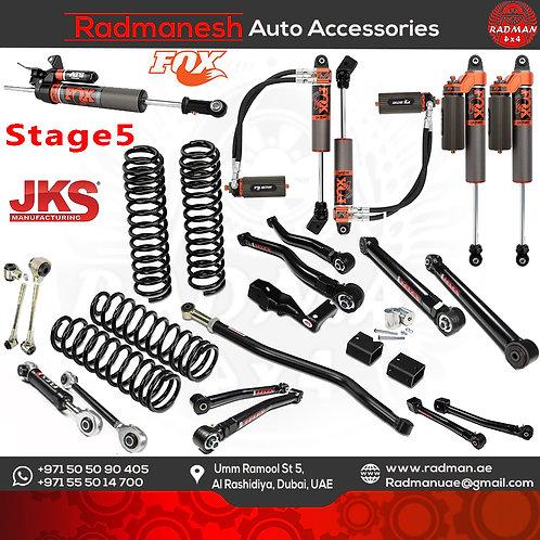 Wrangler JL , Stage 5 Lift Kit