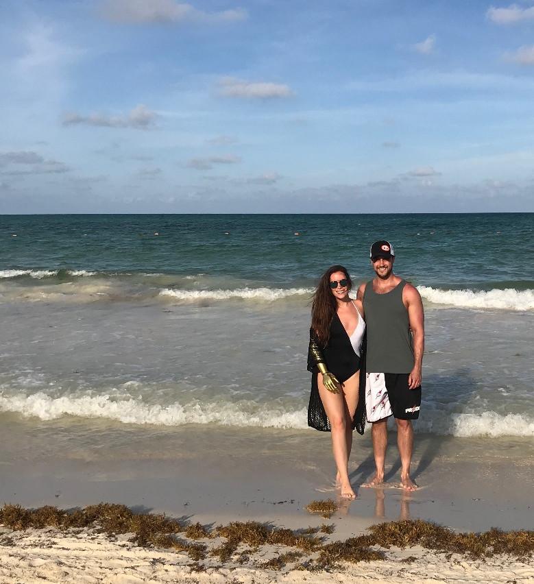 Rebekah Marine honeymoon