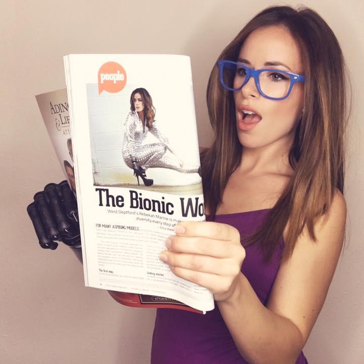 Bionic Model Rebekah Marine