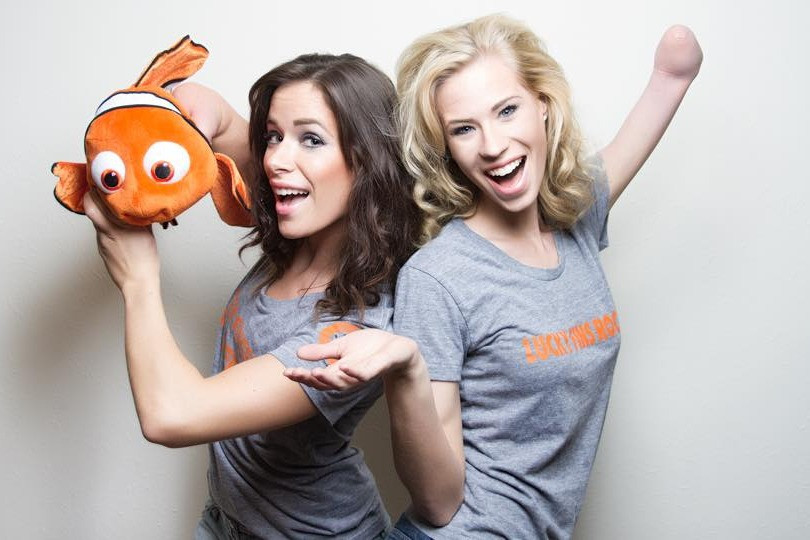 Rebekah Marine and Nicole Kelly for Lucky Fin Project