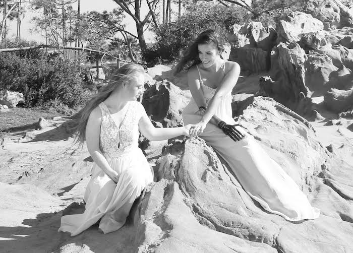 Madeline Stuart with Rebekah Marine