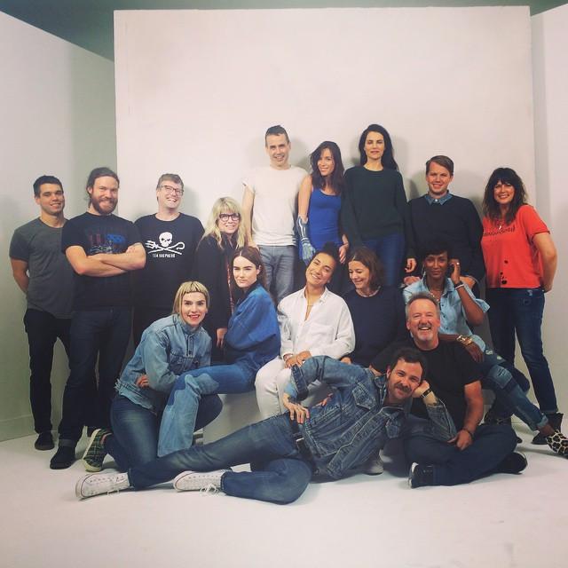 Rebekah Marine shoots for Nordstrom 2015 Anniversary Catalog