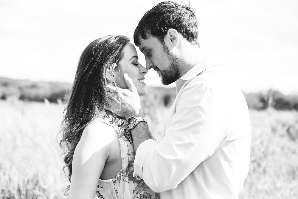Rebekah Marine and fiance Jared. Photo by Endless Wave Studios