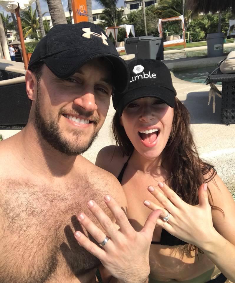 Rebekah Marine and husband Jared