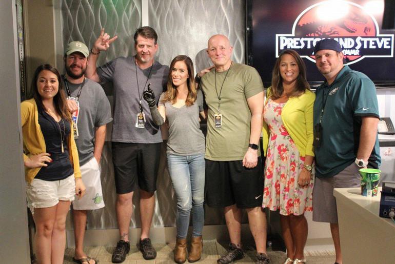Rebekah Marine at WMMR's Preston & Steve Show
