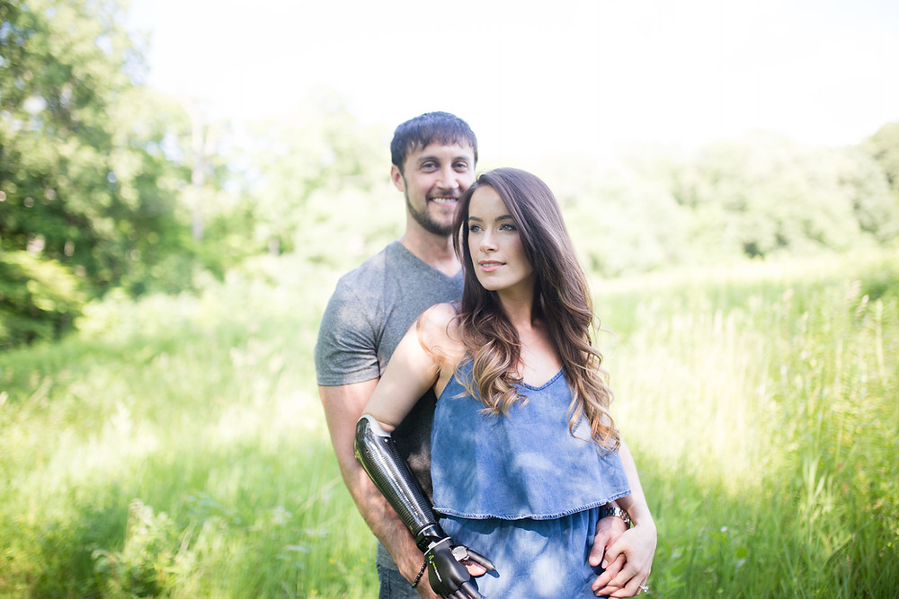 Bionic Model Rebekah Marine and Jared Paster