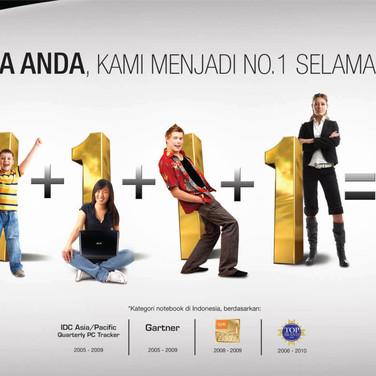 Acer Still Number 1 Campaign