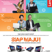 Lenovo Siap Maju Campaign