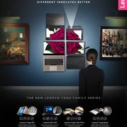Lenovo YOGA Family Campaign
