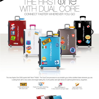 Acer Aspire One Dual Core Campaign