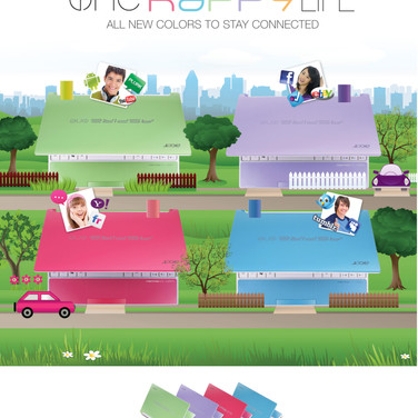 Acer Aspire One Happy Campaign